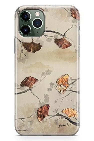 Lopard Apple İphone 11 Pro Max Kılıf Ginkgo Kapak Renkli
